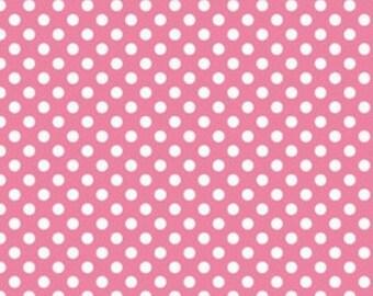 Small dots Hot Pink