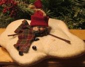 Melting Snowman - Snowman Ornie - Bowl Filler