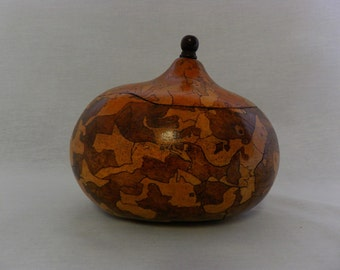 Decorative Tobacco Box Gourd