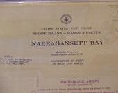 Narragansett Bay ~ Rhode Island, Massachusetts - East Coast - Mt. Hope Bay, Prudence Isl, Conanicut Isl, Fall River, Greenwich Bay, Ch #1296