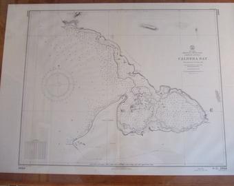 Caldera Bay ~ Dominican Republic, Hispaniola - S. Coast, West Indies - Nautical Chart #1823