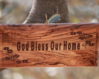 Hanging Wall Plaque Sign Inspirational Novelty Gift (Aelia)