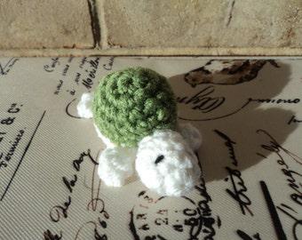 Mini Crochet Turtle