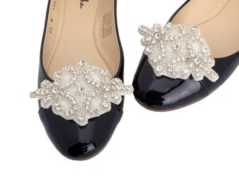 Shoe Ornaments Rhinestone Applique Shoe Clips Shoe Charm Accessories