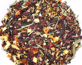 Hibiscus Orange Herbal Tea