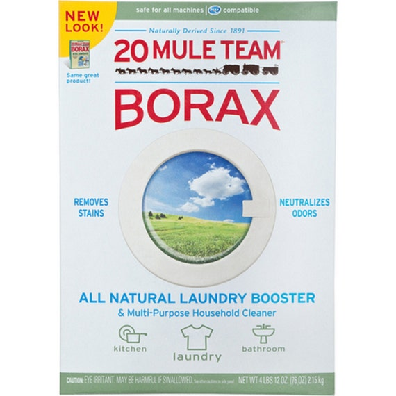 1 Box 20 Mule Team Borax Natural Laundry Booster 4 By Nctrade44