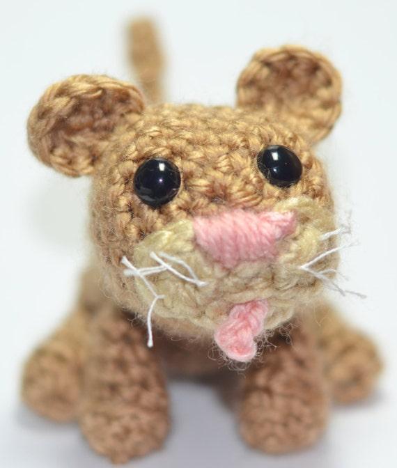 Mountain Lion Amigurumi : PATTERN: Crocheted Mountain Lion by Californimals on Etsy