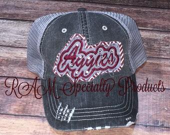 Aggie trucker hat