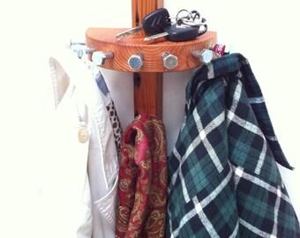 unique coat hook and key shelf