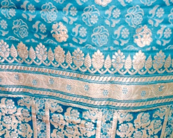 Silk vintage sari