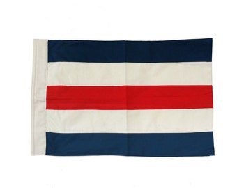 Letter C Cotton Nautical Signal Flag