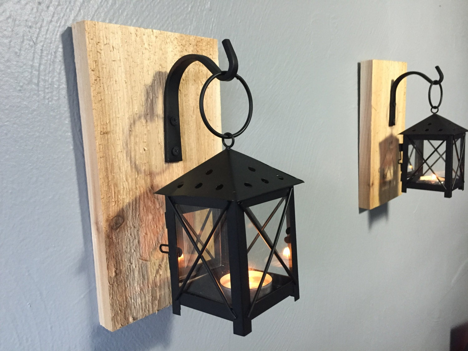 Lantern Wall Sconces Rustic : Request a custom order and have something made just for you.