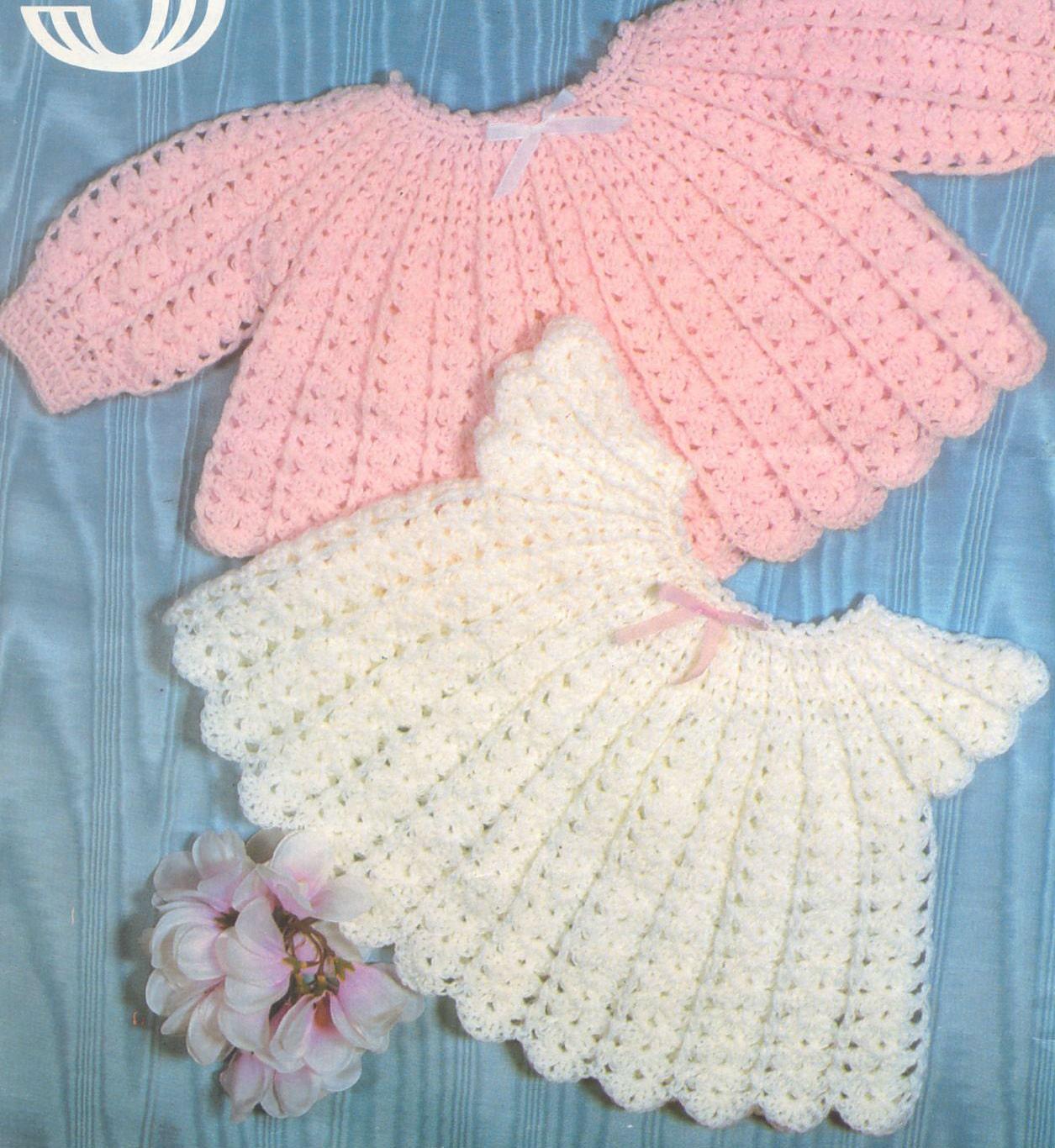 Crochet Baby Sweater Dress Pattern ~ Burak for .
