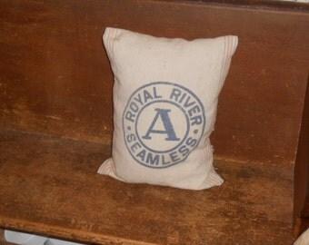 Feed Sack Pillow