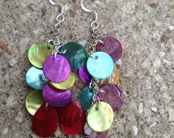 Funky, colorful, fun earrings