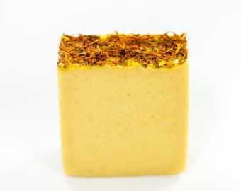 Goat Milk Soap with Sea Buckthorn for Gentle Skin