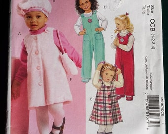 McCall's 5167. Uncut sewing pattern for children's clothing.
