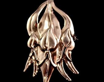 Sturt Pea Brooch sterling silver