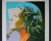 """Andy Warhol Ingrid Bergman """"Herself""""  II.313 1983 Screenprint 38 X 38 in Edition 250"""