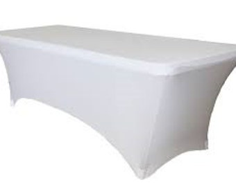 Rectangular Spandex/Lycra Table Cloth/Cover- various colours and sizes available!