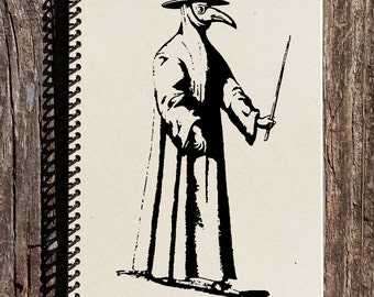 The Black Death Journal - Black Death Notebook - The Bubonic Plague - History of the Plague - Medieval History - Gift for History Buff