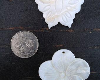 Two Shell Pendants