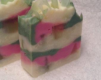 Lavender Lime handmade soap