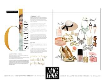 Wardrobe Guide v.2c Magazine Layout Spread