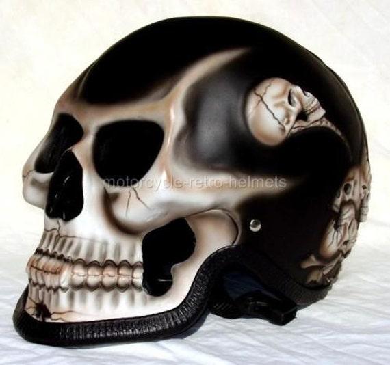 moto casque t te de mort squelette mort cavalier par skull2210. Black Bedroom Furniture Sets. Home Design Ideas