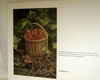 Bob Timberlake's Strawberries from the book The World of Bob Timberlake