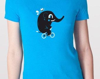 BIKING ELEPHANT T-Shirt Girls