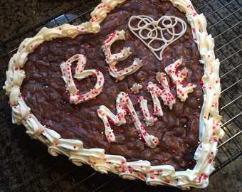 Mary V's Valentine Best Brownie Cake Ever!