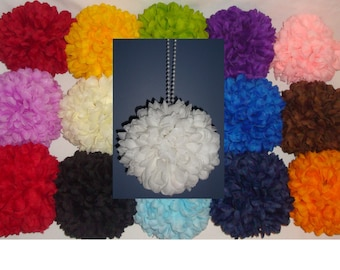 "6"" Mum Pomander Kissing Ball *U-Pick color* Great for Pew Bows or as a Flower Girl Bouquet"