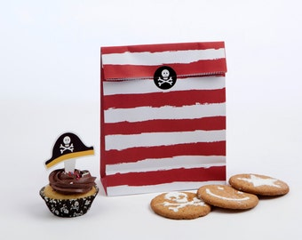 Ahoy There Pirate Theme Treat Bags