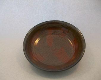 Stoneware Shallow Bowl Hand Thrown