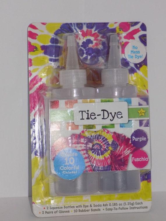 tie dye diy kit 2pc squeeze bottles with dye soda ash