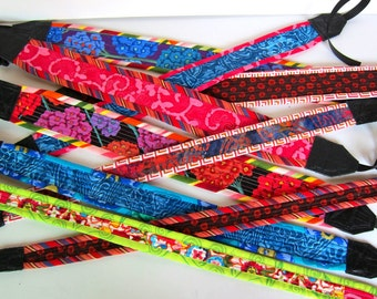 Quilted camera straps