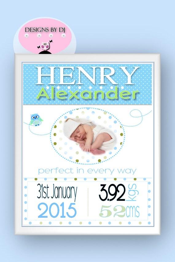 Baby Boy Gift Keepsake : Personalized baby boy gifts custom birth by
