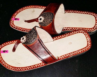 Handmade Mexican Leather Sandals