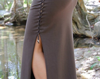 Essence Maxi Skirt-pixie clothing/doof clothing/festival clothing/burning man/dance wear/