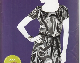 Brand New Simplicity Pattern  #1989 Women's, Misses', Pull over, Dress, Tie Belt. Size 16-18