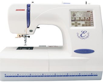 Janome Memory Craft 300E Embroidery Machine