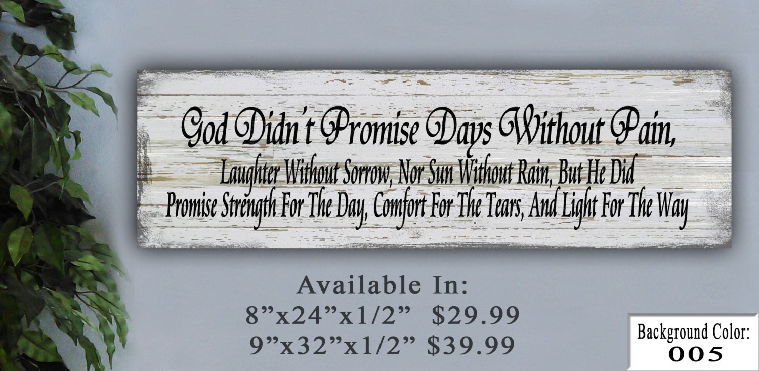 God Sign Wooden Sign Personalized Sign Home Decor