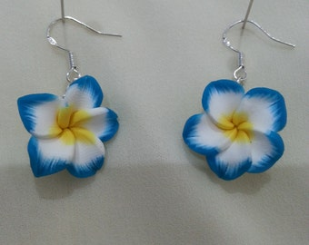 Sterling Silver hook Flower Earrings