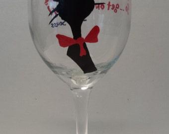 Dr Seuss wineglass