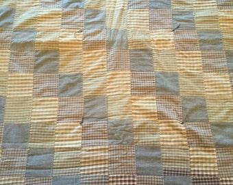 Child/Youth/Lap Vintage Patchwork Quilt