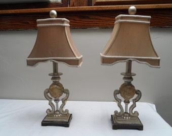 One Pair of Gorgeous Vintage Lamps!