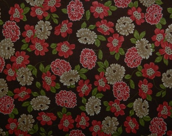 Moda Fabric ~ Cotton Blossoms by Bonnie and Camille ~ Floral Fabric