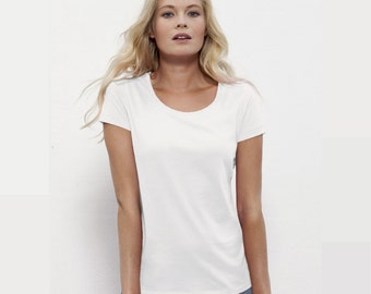 Design and customization of your Organic Tshirt - Women XS to XXL
