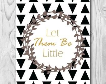 Printable Nursery Art, Printable Art, Printable Home Decor, Modern Nursery Decor, Black and White Nursery, Printable Kids Room Art